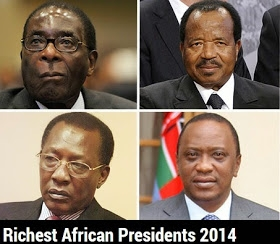 Top 10 Richest Presidents in Africa (see nigeria