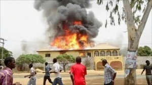 Tragedy!! Fire Burnts Three Sisters To Death In Lagos
