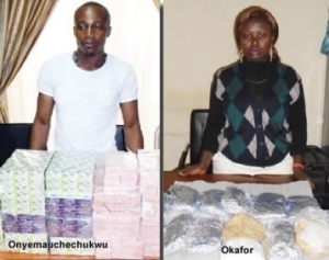 Two Young Nigerians Get 55 Years Jail Term In Enugu For Drug Trafficking