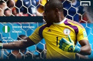 Vincent Enyeama makes African Player of the Year final shortlist