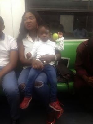 Why I Boarded The Train With Ordinary People On March 2 – Mercy Johnson