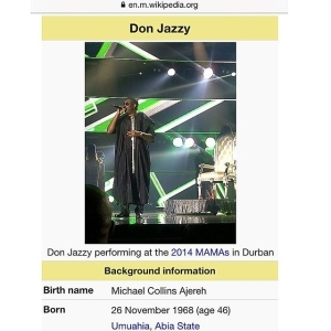 Wikipedia Says Don Jazzy Is