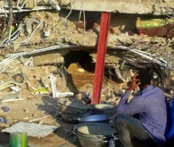 Woman 45, Walks Out Alive From Synagogue's Collapsed Guest House
