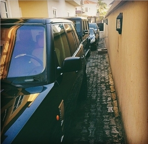 Wow!! Burna Boy Proudly Shows Off His Fleet Of Cars (See Photo)