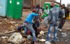 Xenophobic Horror: People Stood Watching While This Foreigner Was Stabbed To Death In South Africa