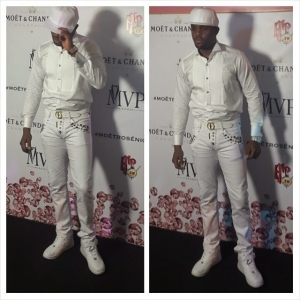 Yayy or Nay? – BBA Melvin Oduah's Outfit to AY's Lounge Opening