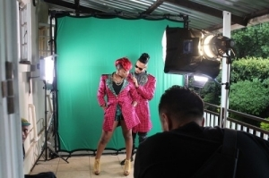 "Yemi Alade – ""Taking Over Me"" ft. Phyno B.T.S Photos"