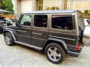 Yemi Alade Acquires Mercedes Benz G-Wagon