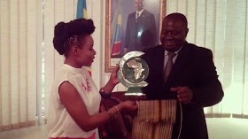 Yemi Alade Made Peace Ambassador In Congo