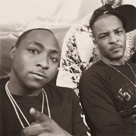 Young boss See Davido chilling with T.I (Photo)