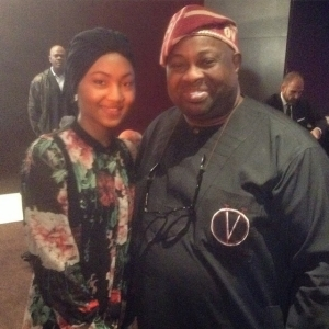 Zahra Buhari Meets Ovation Boss, Dele Momodu in London (Photo)