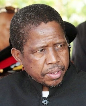 Zambian President collapses during Women