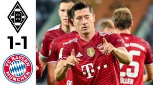 Borussia Monchengladbach vs Bayern Munich 1 - 1 (Bundesliga 2021 Goals & Highlights)