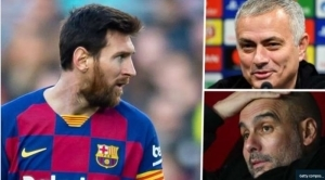 Jose Mourinho Mocks Man City's Plans To Sign Lionel Messi