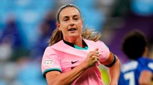 Barcelona star Putellas wins UEFA Women