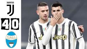 Juventus vs SPAL  4 - 0 (Coppa Italia Goals & Highlights 2021)