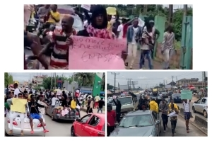 See how Massive the #ENDSARS Protest is Going in Benin city.