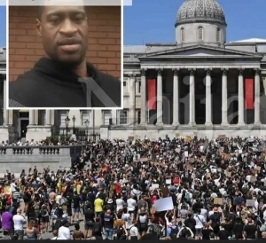 I Can't Breathe!! UK Joins George Floyd Protests As Thousands Protest In London