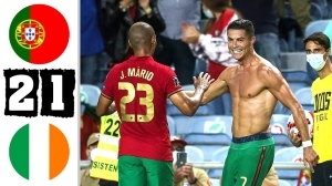 Portugal vs Ireland 2 - 1 (2022 World Cup Qualifiers Goals & Highlights)