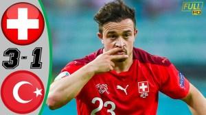 SwitzerIand vs Turkey 3 − 1 (EURO 2020 Goals & Highlights)