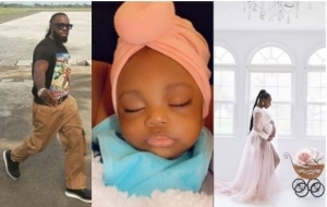 'Meet My Daughter, She Is Six Months Old'- Timaya Says As He Unveils Beautiful Pictures Of Baby Girl