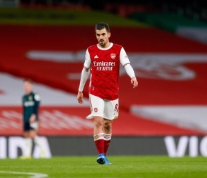 Arsenal loanee drops possible hint over his future