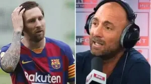 French World Cup winner, Christophe Dugarry apologises for calling Lionel Messi