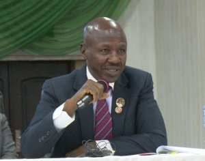 I strongly believe coronavirus is caused by corruption, says Magu