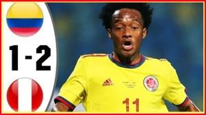 Colombia vs Peru 1 − 2 (Copa America 2020 Goals & Highlights)