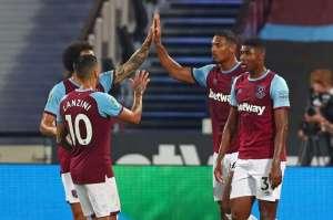 Sebastien Haller Lifts West Ham Gloom, Crystal Palace Crash Out Of League Cup