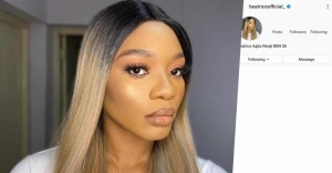 BBNaija: Reactions As Instagram Deletes Beatrice's Account Hours After Verification
