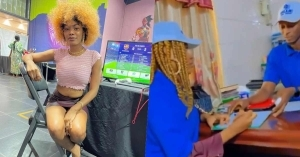 Bobrisky's Ivorian PA, Oye Bags Endorsement Deal With Automobile Brand (Video)