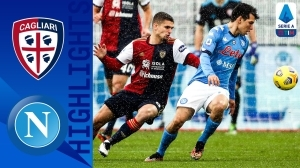 Cagliari vs Napoli 1 - 4 (Serie A Goals & Highlights)
