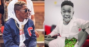 Shatta Wale's son Majesty now a 'Big Boy', lights up the net with his smile in new photo