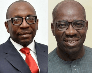 EDO DECIDE: Between Gov. Obaseki And Pastor Ize-Iyamu, Who Do You Think Will Win The Governorship Election?