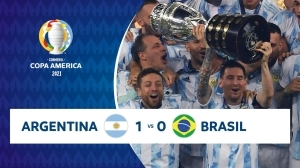 Argentina vs Brazil 1 − 0 (Copa America 2020 Goals & Highlights)