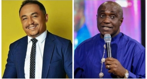 """""""I curse the day he was born"""" Pastor Ibiyeomie attacks Daddy Freeze for always"""