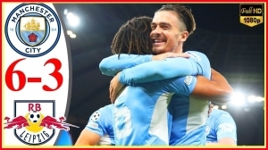 Manchester City vs RB Leipzig 6 - 3  (Champions League 2021 Goals & Highlights)