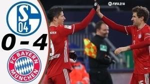 Schalke vs Bayern Munich  0 - 4 (Bundesliga Goals & Highlights 2021)