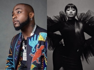 """Congratulations Davido!""- Nicki Minaj Reacts To The ABT Album Release Of Davido"