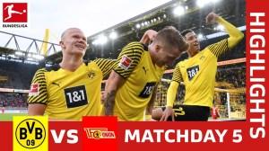 Dortmund vs Union Berlin 4 - 2 (Bundesliga 2021 Goals & Highlights)