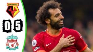 Watford vs Liverpool 0 - 5 (Premier League  2021 Goals & Highlights)