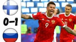 Finland vs Russia 0 - 1 (EURO 2020 Goals & Highlights)