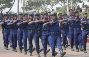 Drama As NSCDC Official Is Caught Smuggling Two People Into Ebonyi On A Motorcycle