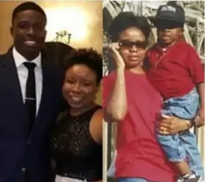 Nigerian mother cries out for justice after American police tased her son until he was unconscious and bleeding, then charged him for a crime
