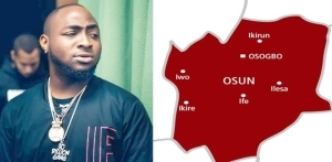 Davido laments over the poor condition of roads in Osun, says 'everything is still the same'