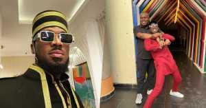 Singer, D'Banj And Former Manager, Bankuli Reconcile (Video)
