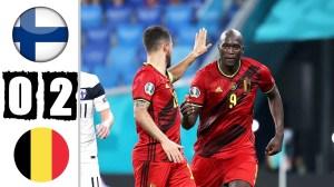 Finland vs Belgium 0 − 2 (EURO 2020 Goals & Highlights)