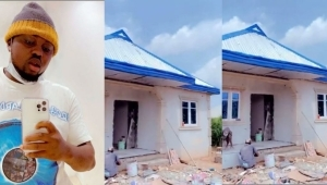 """""""God Is The Greatest"""" – Comedian Egungun Says As He Becomes A Landlord Of A 5 Bedroom Apartment (Video)"""