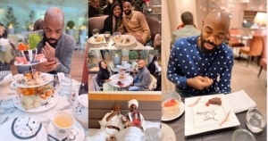 Lady Celebrates Her Man's Birthday By Taking Him To Six Different Exotic Locations